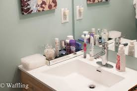 bathroom vanity organizers ideas organize bathroom vanity
