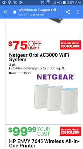 netgear orbi ac3000 tri band router 3 pack 425 ac costo valid 6 1