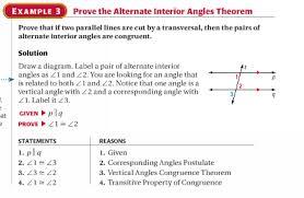 Alternate Interior by Stageometrych3 Alternate Interior Angles Theorem And Alternate