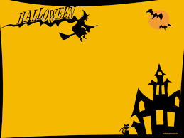 free halloween stationery background halloween border powerpoint u2013 festival collections