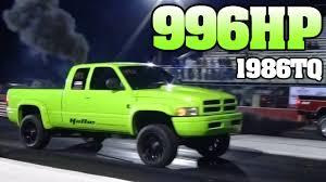 dodge truck racing fast green cummins turbo diesel drag racing 2013