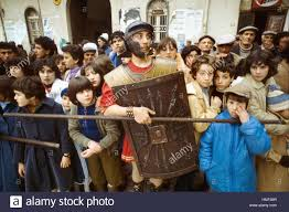 sicily italy traditional celebrations of the easter stock photo