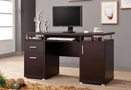 Modern Home Computer Desk Home Computer Desks Computing For Hours Easier