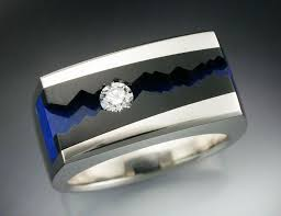 jade engagement ring buy a crafted 14k white gold s ring with black jade