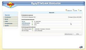 benutzeroberfläche fritz repeater avm fritz wlan repeater n g und fritz wlan repeater 300e 2 chip