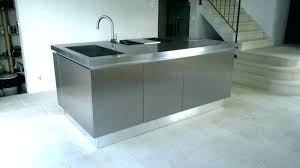 hauteur plinthe cuisine meuble cuisine en inox meuble cuisine en inox hauteur plinthe