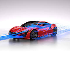 acura supercar nsx supercar design sports car aerodynamic beauty acura com