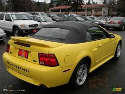 2000 Ford Gt 2000 Zinc Yellow Ford Mustang Gt Convertible 58387183 Photo 5