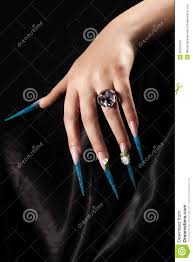 extremely long nails stock images image 36706134