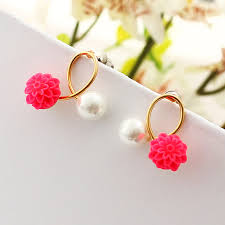 korean earings wedding earrings korean fashion statement earrings online shopping