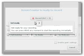 Screen Toaster Record Videos Of Your Desktop On Any Os For Free