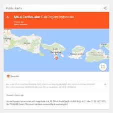 earthquake bali 2017 earthquake strikes bali area balithisweek