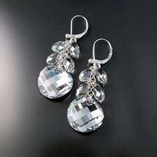 swarovski crystal necklace earrings images Swarovski crystal earrings zoran designs jewelry jpg