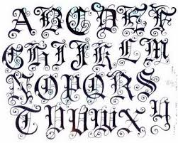 fancy english font alphabet old english tattoo pin fancy fonts