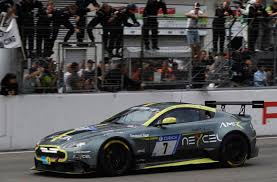 aston martin racing aston martin vantage gt8 takes honours at nürburgring 24 hours