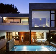 Twin House Plans Twin House By Antonio Altarriba Comes Location Rocafort