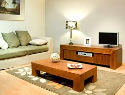 coffee table living room using wooden tv stand and coffeee sofa