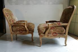 Oversized Lounge Chair Oversized Pair Of French Bergeres Or Lounge Chairs Drexel