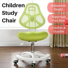 adjustable height kids table qoo10 kids study chair furniture deco