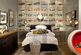 Boys Room Decorating Ideas Decoholic - Boys car bedroom ideas