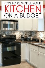 how to fit a kitchen cheaply how to remodel your kitchen on a budget titus from