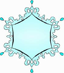 free prinable snowflake shape weather shapebooks templates