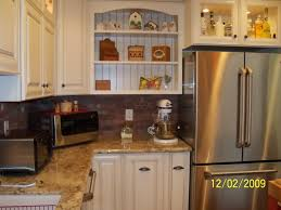 Italian Kitchen Decor Ideas Endearing L Shape Red Color Italian Kitchen Cabinets With White