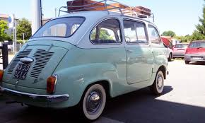 fiat multipla 600 fiat u0027s 1960s tiny minivan moved six people with style ebay