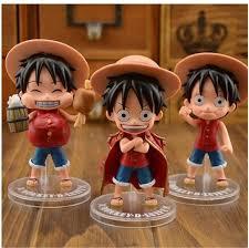 2017 11cm one luffy figures model doll toys car doll