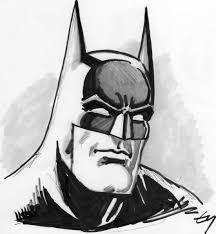 batman drawing face draw batman u0027s face easy step step