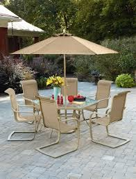 Umbrella Lazy Susan Turntable by Round Patio Table With Lazy Susan Home Design Ideas
