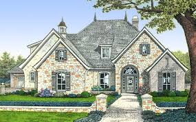 french country house plans 3200 square feet homeca