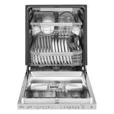 Built In Dishwasher Prices Smart Dishwashers Smart Appliances The Home Depot