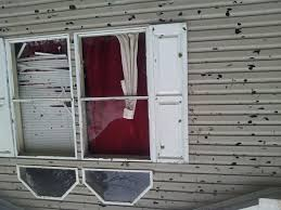 Florida Window And Door Hail And Wind Damage Homes And Cars In North Central Florida