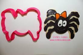halloween cookie cutters cristin u0027s cookies creepy crawlers for halloween spiders cookies