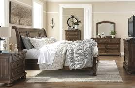 Porter King Storage Bedroom Set Flynnter Medium Brown Sleigh Storage Bedroom Set