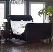 Black Leather Sleigh Bed Best 25 Black Sleigh Beds Ideas On Pinterest Master Bedrooms