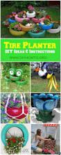Planters Diy by Best 20 Recycled Planters Ideas On Pinterest Garden Pots Ideas