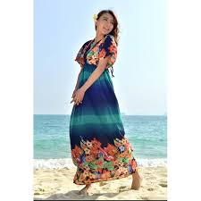 high quality plus size maxi dress v neck mixed colorxxxl