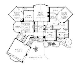 Cottages Floor Plans Design One Story Craftsman Style House Plans Hahnow