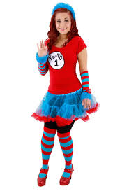 cat in the hat thing 1 or thing 2 tutu costume buycostumes com