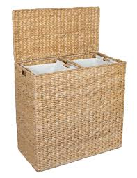 Unique Laundry Hampers by Amazon Com Birdrock Home Oversized Divided Hamper With Liners