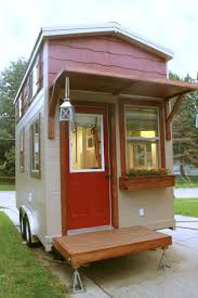 a 180 square feet lofted tiny house on wheels in omaha nebraska