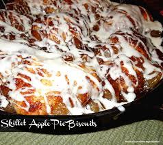 skillet apple pie biscuits melissassouthernstylekitchen com