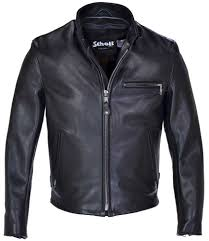 mens leather moto jacket schott nyc mens 141 cafe racer leather motorcycle jacket