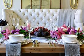 Table Styling Basics Featuring Arte Italica Decor Gold Designs - Design a table setting