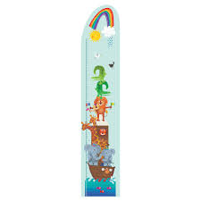 stickerscape ark height chart wall sticker kiddicare com