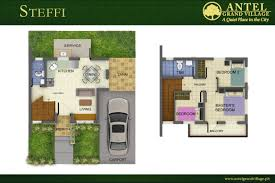 Modern House Design With Floor Plan In The Philippines by Antel Grand Village Model Units Cavite House And Lot Antel