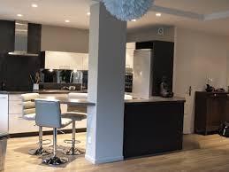 cuisine en l ouverte sur salon cuisine cuisine ouverte ou fermã e quotatis cuisine ouverte