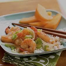 stir fried ginger shrimp recipe myrecipes